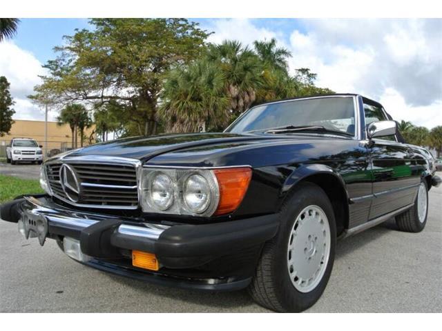 1989 Mercedes-Benz 560SL (CC-1425976) for sale in Miami, Florida