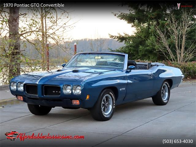 1970 Pontiac GTO (CC-1420601) for sale in Gladstone, Oregon