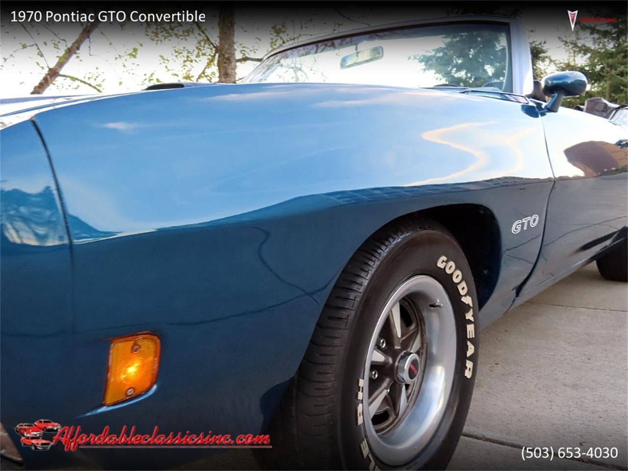 1970 Pontiac GTO (CC-1420601) for sale in Gladstone, Oregon