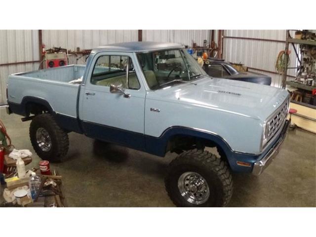 1975 Dodge Power Wagon (CC-1426160) for sale in Cadillac, Michigan