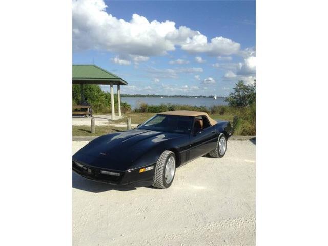 1989 Chevrolet Corvette (CC-1426205) for sale in Cadillac, Michigan