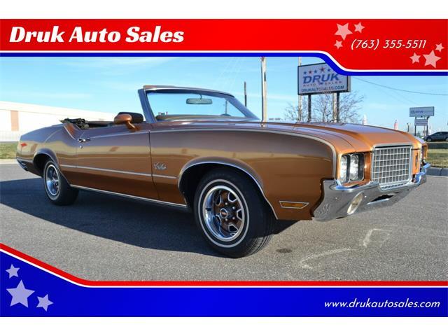 1972 Oldsmobile Cutlass (CC-1426252) for sale in Ramsey, Minnesota