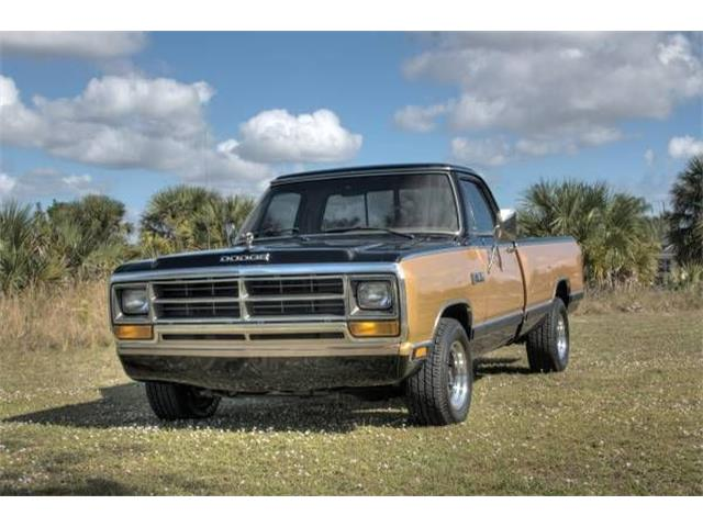 1986 Dodge D150 (CC-1426281) for sale in Cadillac, Michigan
