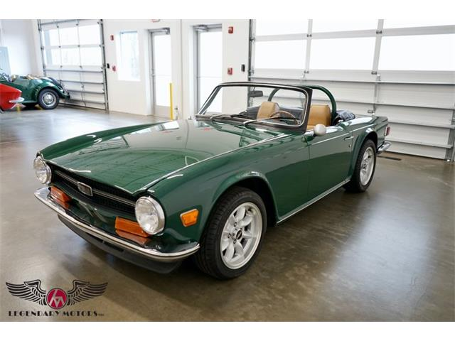 1971 Triumph TR6 (CC-1426315) for sale in Beverly, Massachusetts