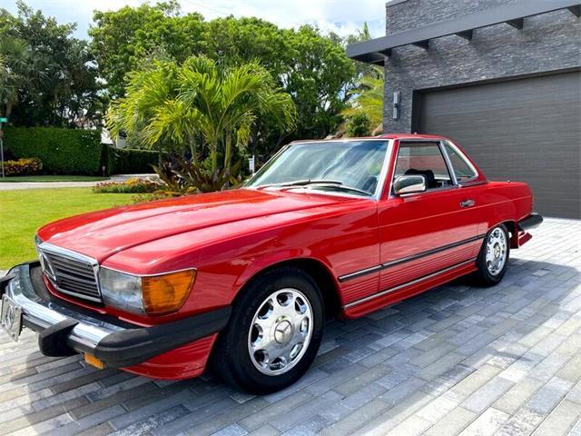 1986 Mercedes-Benz 560 (CC-1426408) for sale in Delray Beach, Florida
