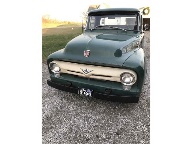 1956 Ford F100 (CC-1426455) for sale in Britton, Michigan