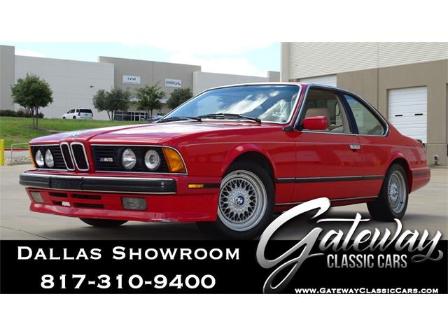 1988 BMW M6 (CC-1426488) for sale in O'Fallon, Illinois