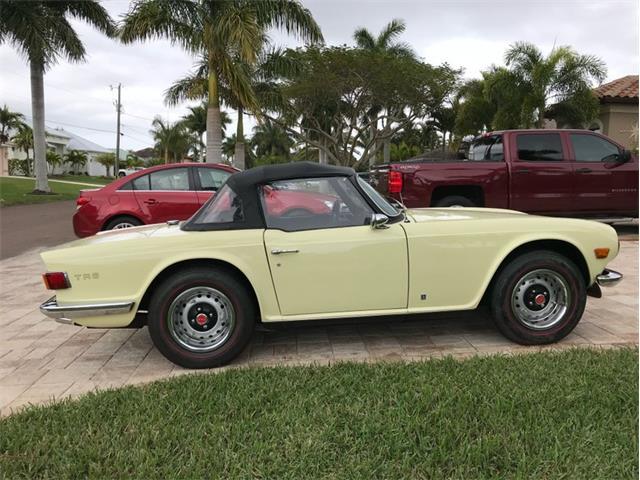 1972 Triumph TR6 (CC-1426508) for sale in Punta Gorda, Florida