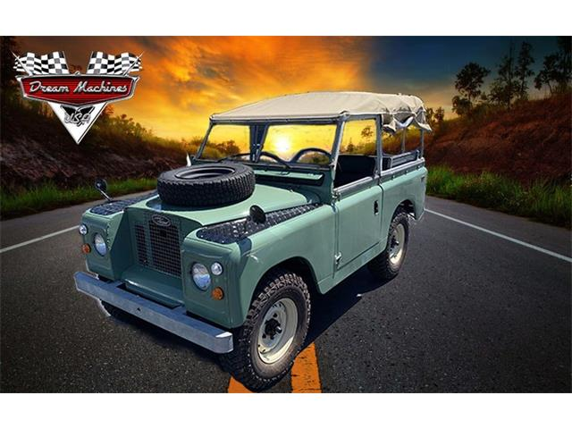1969 Land Rover Series II 88