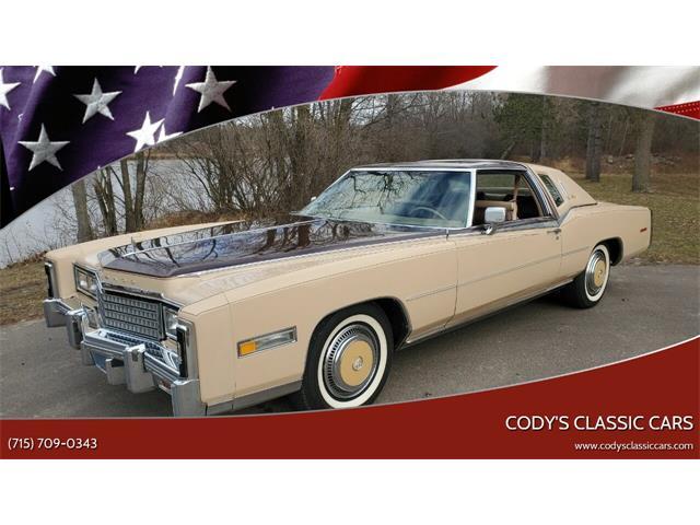 1978 Cadillac Eldorado Biarritz (CC-1426582) for sale in Stanley, Wisconsin