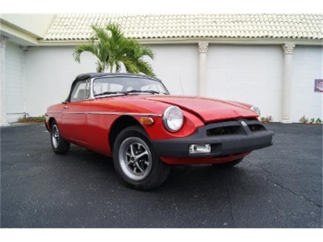 1979 MG MGB (CC-1426608) for sale in Miami, Florida