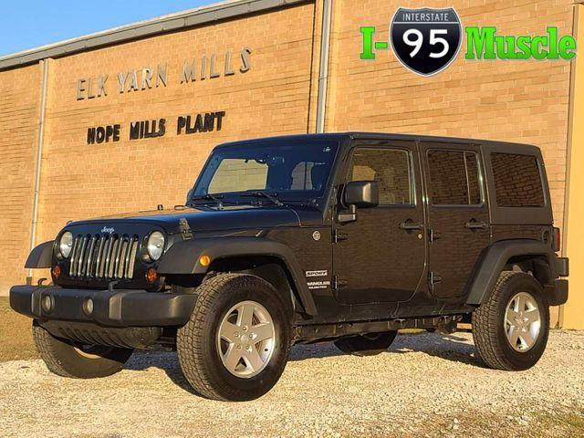 2011 Jeep Wrangler (CC-1426638) for sale in Hope Mills, North Carolina