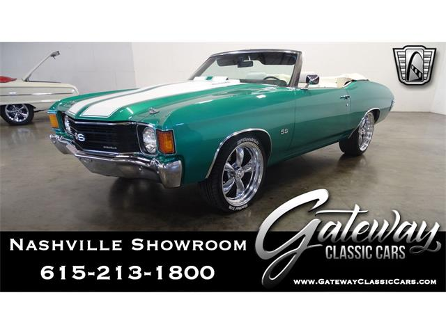 1972 Chevrolet Chevelle (CC-1426788) for sale in O'Fallon, Illinois