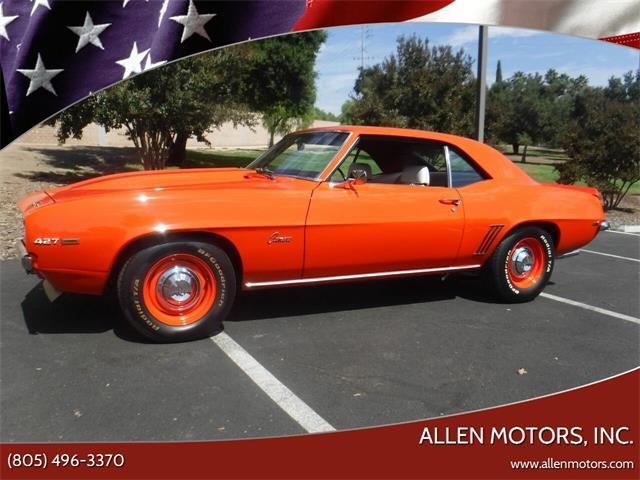 1969 Chevrolet Camaro (CC-1426870) for sale in Thousand Oaks, California