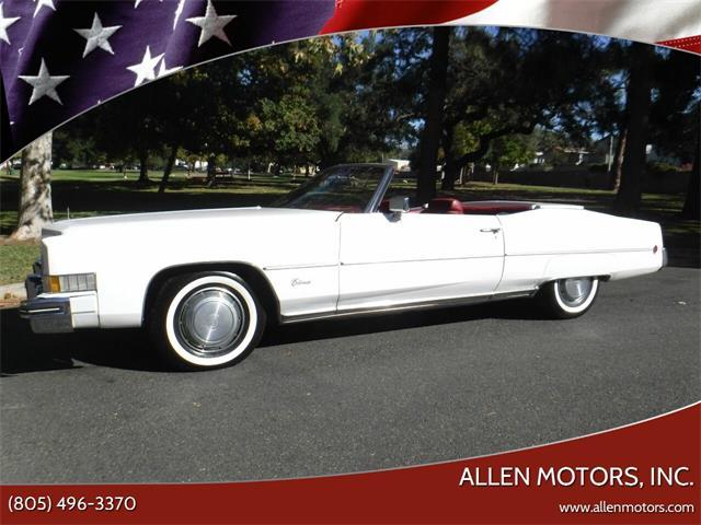 1973 Cadillac Eldorado (CC-1426881) for sale in Thousand Oaks, California