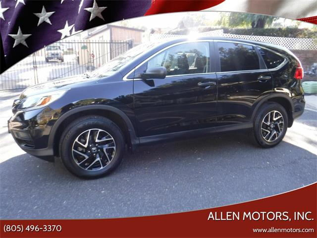 2016 Honda CRV (CC-1426888) for sale in Thousand Oaks, California