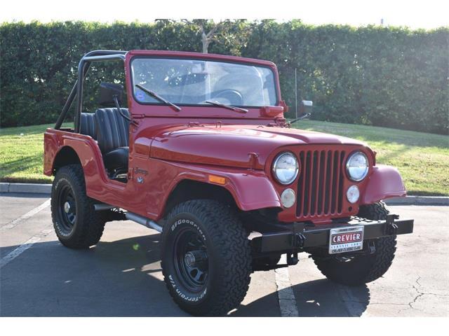 1972 Jeep CJ5 (CC-1420692) for sale in Costa Mesa, California