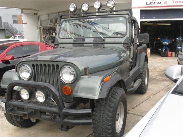 1986 Jeep CJ7 (CC-1426995) for sale in Cadillac, Michigan