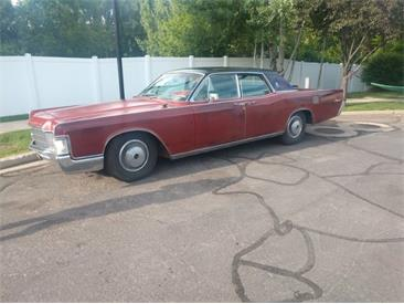 1969 Lincoln Continental (CC-1427019) for sale in Cadillac, Michigan