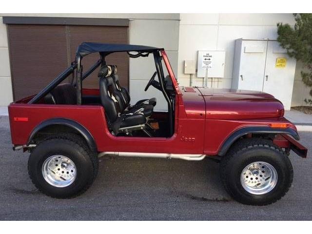 1978 Jeep CJ7 (CC-1427062) for sale in Cadillac, Michigan