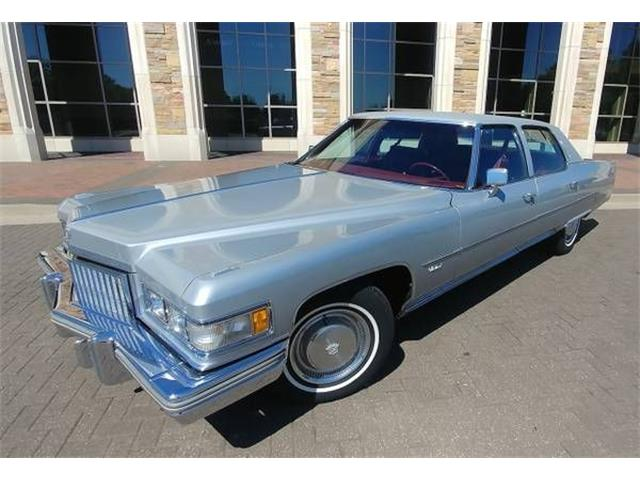 1975 Cadillac Fleetwood (CC-1427074) for sale in Cadillac, Michigan