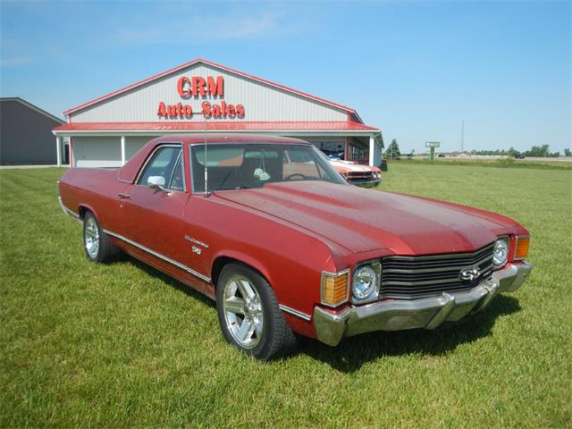 1972 Chevrolet El Camino (CC-1427214) for sale in Celina, Ohio