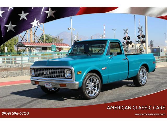 1972 Chevrolet C/K 10 (CC-1427412) for sale in La Verne, California