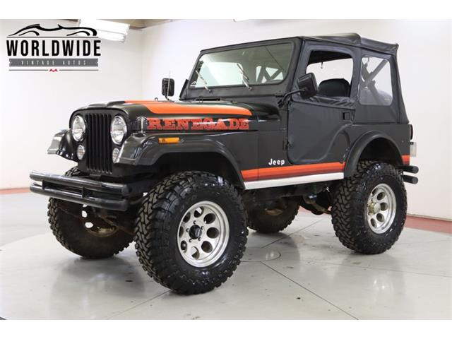 1981 Jeep CJ (CC-1420750) for sale in Denver , Colorado