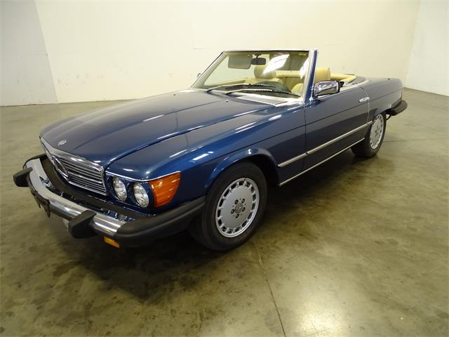 1985 Mercedes-Benz 380SL (CC-1427560) for sale in O'Fallon, Illinois