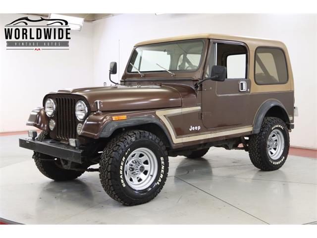 1985 Jeep CJ (CC-1420764) for sale in Denver , Colorado
