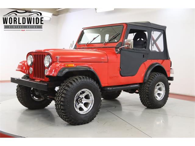 1977 Jeep CJ (CC-1420765) for sale in Denver , Colorado