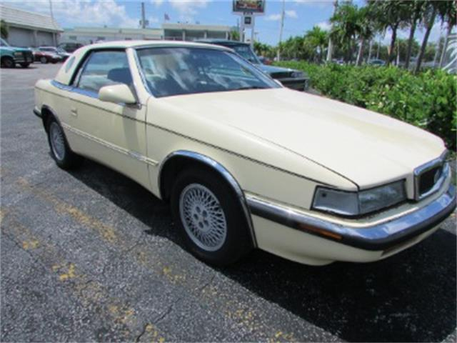 1991 Chrysler TC by Maserati (CC-1427710) for sale in Miami, Florida