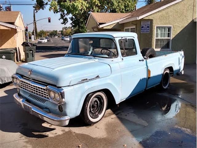1958 Ford F100 (CC-1427771) for sale in Sacramento, California