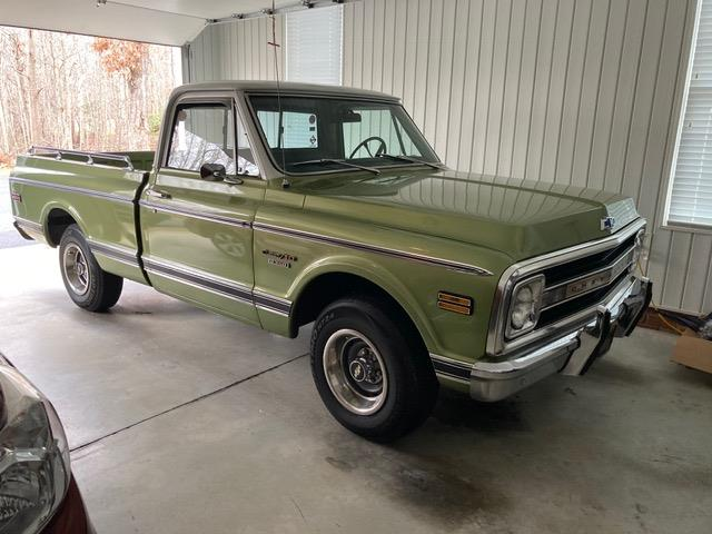 1969 Chevrolet C10 (CC-1427817) for sale in MILFORD, Ohio