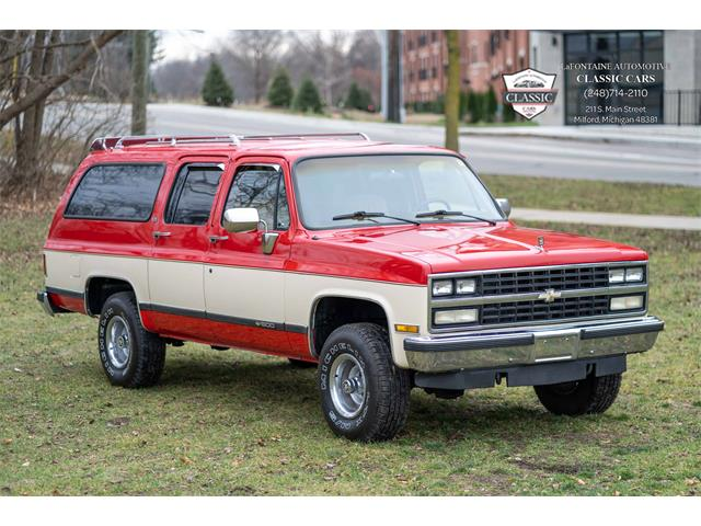 1989 Chevrolet Suburban (CC-1427827) for sale in Milford, Michigan