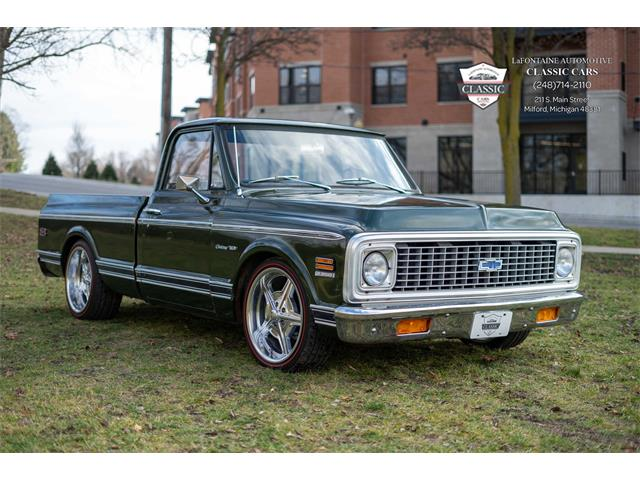 1971 Chevrolet C10 (CC-1427832) for sale in Milford, Michigan