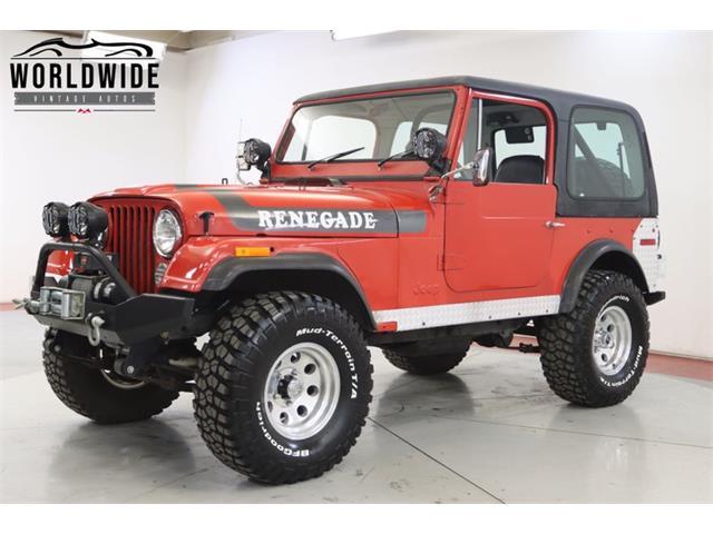 1976 Jeep CJ (CC-1427899) for sale in Denver , Colorado