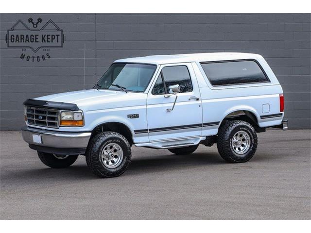 1996 Ford Bronco (CC-1427913) for sale in Grand Rapids, Michigan