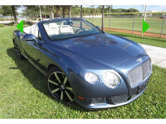 2013 Bentley Continental GTC (CC-1427986) for sale in Boca Raton, Florida