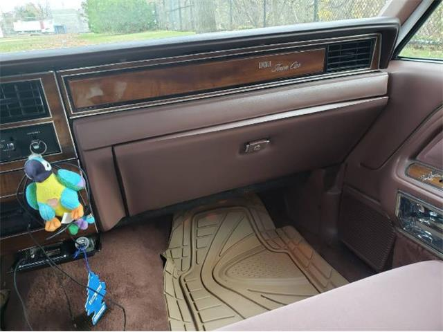 1989 Lincoln Town Car (CC-1428182) for sale in Cadillac, Michigan
