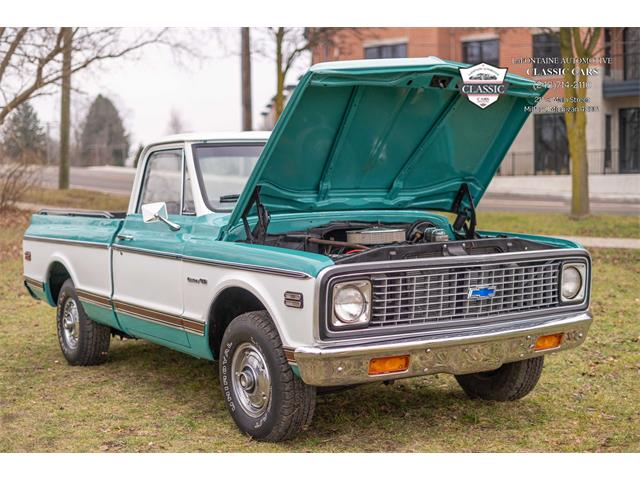 1971 Chevrolet C/K 10 (CC-1428555) for sale in Milford, Michigan