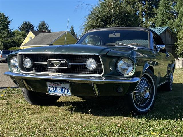 1967 Ford Mustang (CC-1428583) for sale in Carnation, Washington