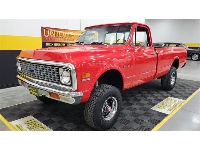 1971 Chevrolet K-10 (CC-1428630) for sale in Mankato, Minnesota