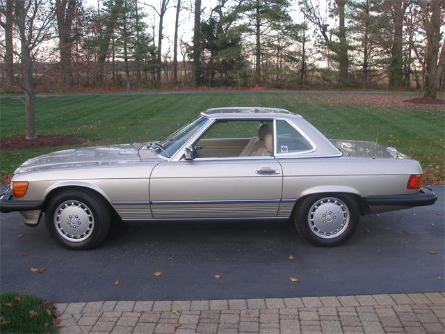 1988 Mercedes-Benz SL-Class (CC-1429033) for sale in Edwardsburg, Michigan