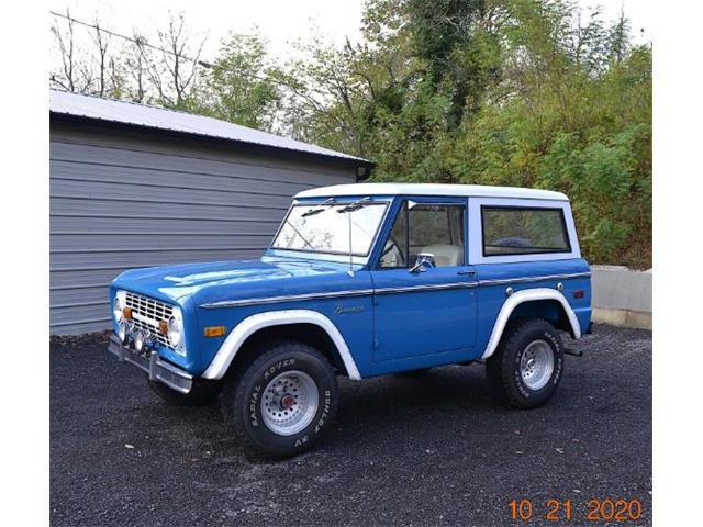 1972 Ford Bronco (CC-1429156) for sale in Cadillac, Michigan