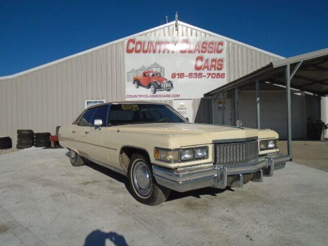 1975 Cadillac Fleetwood (CC-1429166) for sale in Staunton, Illinois