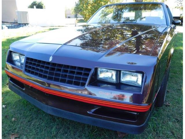 1985 Chevrolet Monte Carlo (CC-1429204) for sale in Cadillac, Michigan