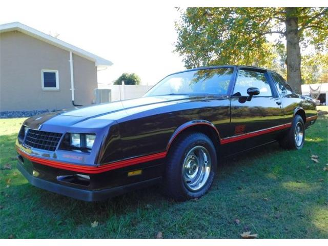 1985 Chevrolet Monte Carlo (CC-1429204) for sale in Cadillac, Michigan