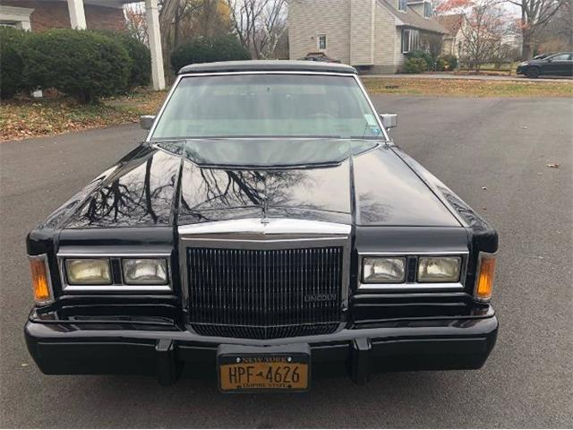 1989 Lincoln Town Car (CC-1429217) for sale in Cadillac, Michigan