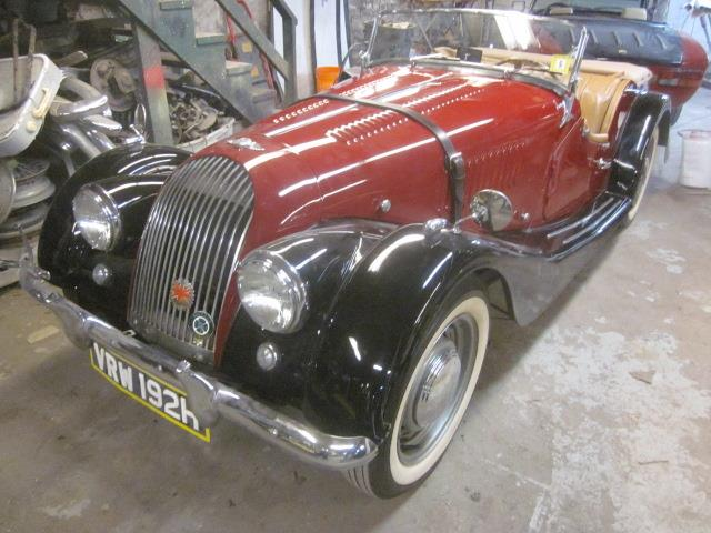 1955 Morgan Plus 4 (CC-1429369) for sale in Stratford, Connecticut